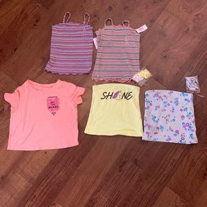 NWT justice size 8 tops, price for each